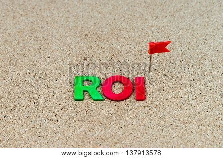 Business Abbreviation Roi As Return On Investment