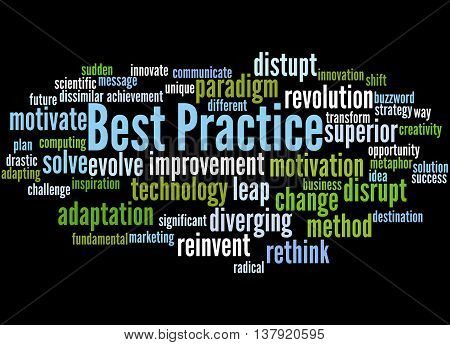 Best Practice, Word Cloud Concept 5