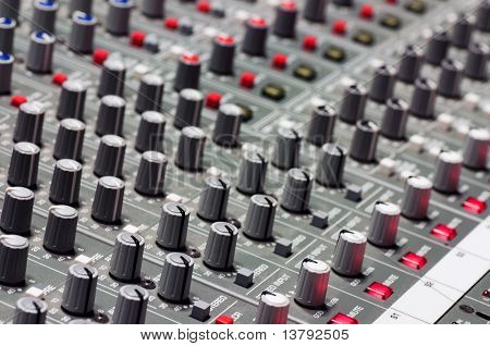 Pro Audio Mixing Board