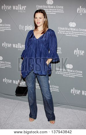 Jennifer Garner at the 4th Annual Pink Party held at the Hanger 8 in Santa Monica, USA on September 13, 2008.