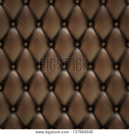 Vector Leather background with buttons. Luxury background. Leather background. Leather background. Leather texture. eps10 vector