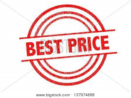 BEST PRICE Rubber Stamp over a white background.