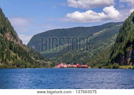 Three Valley Canada - July 2 2016. Three Valley Gap Chateau