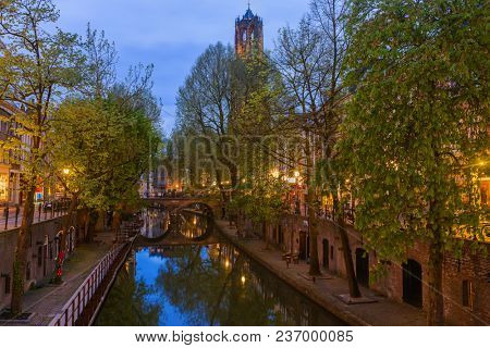 Utrecht cityscape - Netherlands - architecture background