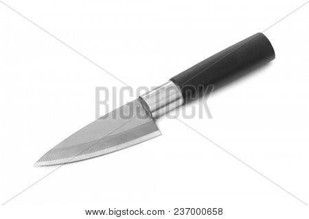 Kithen knife isolated on white background