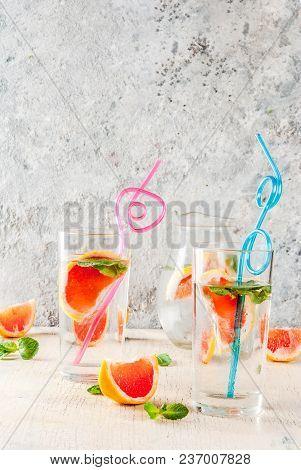 Summer Refreshment Grapefruit Drink