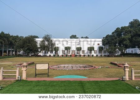 New Delhi. India, 26 January 2018: Birla House Or Birla Bhavan, In New Delhi, India, Is The House Wh