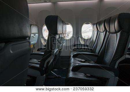 Airplane Seat Class Economy,passenger Plane In Class Economy