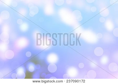 Abstract Retro Background Texture Rough Spots Of Bright Pastel Colors To Blue Tinted Photo Side Long