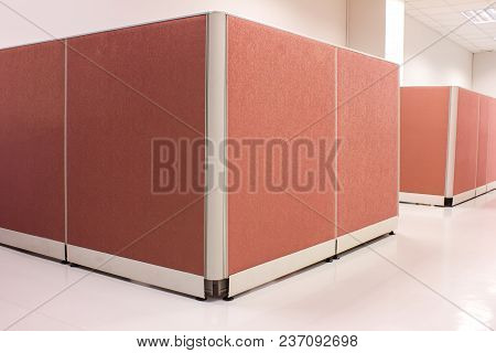 The Office Pink Partition For Business In Office