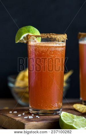 Michelada Beer Cocktail