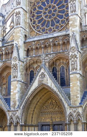 Westminster Abbey, One Of The Most Important Anglican Temple , London, United Kingdom.the Abbey Star
