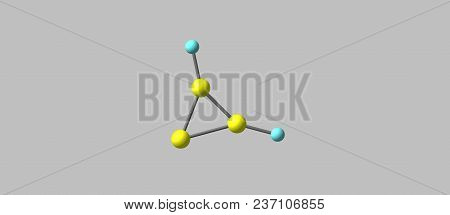 Cyclopropenylidene Or C-c3h2 Is An Aromatic Molecule Belonging To A Highly Reactive Class Of Organic