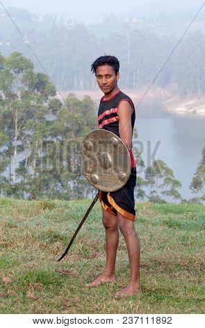 Kalaripayattu Martial Art In Kerala, India