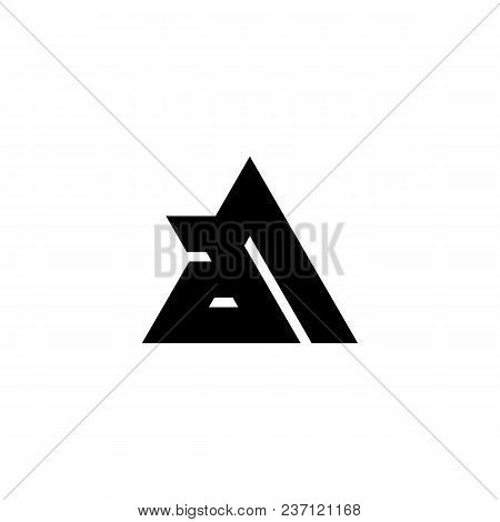 Aa Letter Logo Design Vector Photo Free Trial Bigstock