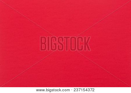 Red Paper Texture Or Background. High Quality Image.