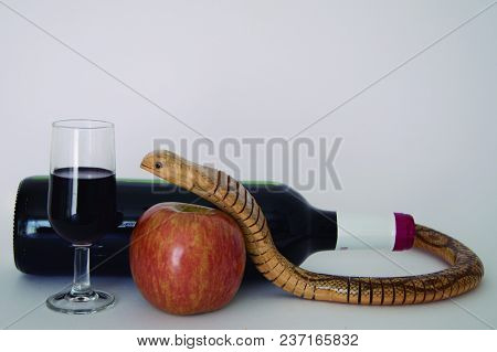 Red Wine As Tentative As The Apple Offered By The Serpent.
