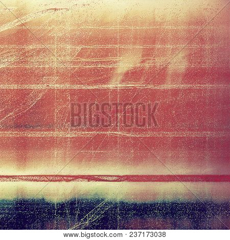 Abstract vintage background with faded grungy texture. Aged backdrop with different color patterns