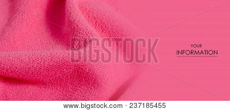 Pink Towel Microfiber Macro Textile Soft Pattern Blur Background