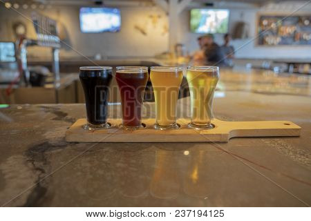 A Tasting Flight Gives A 4oz Poor Of Several Beers
