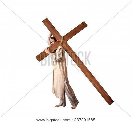 Crucifixion of Jesus Christ, symbol of Gods love