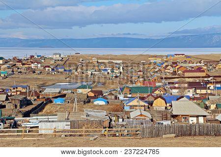 Khuzhir City On Olkhon Island