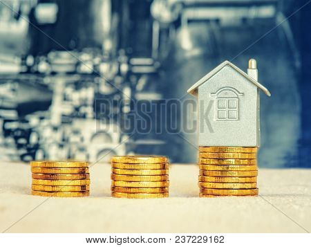 Passport, Money And Home - The Concept Of Buying A Property.
