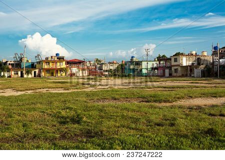 Peripheral District Of The Cuban City Of Cienfuegos