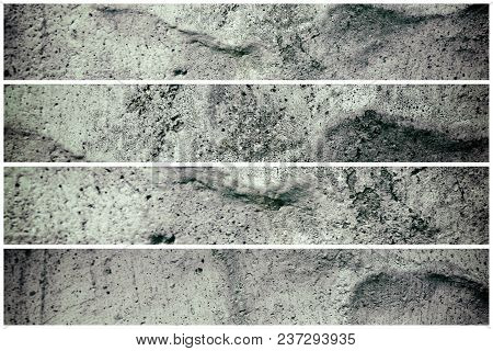 Cemet Grunge Wall Texture, Stone Background For Web Site Or Mobile Devices.