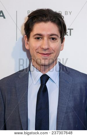 Michael Zegan attends 'The Seagull' screening during 2018 Tribeca Film Festival at SVA Theatre on April 21, 2018 in New York City.