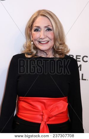 NEW YORK, NY - APRIL 21:  Sandra Geller attend the 'Bathtubs Over Broadway' screening during 2018 Tribeca Film Festival at BMCC Tribeca PAC on April 21, 2018 in New York City.