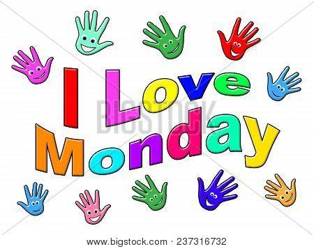 Monday Inspiration Quotes - Love Faces - 3D Illustration