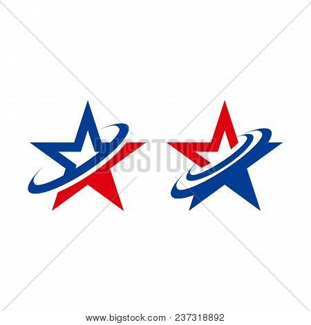 Star Concept Logo, Star Color Vector Logo, Star Color Icon, Star Rating, Ranking. The Astrological S
