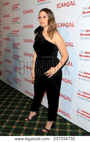 LOS ANGELES - APR 19:  Katie Lowes at the The Actors Fund's