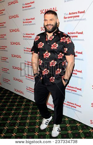 LOS ANGELES - APR 19:  Guillermo Diaz at the The Actors Fund's