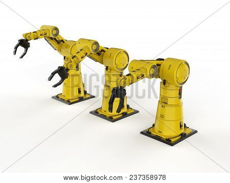 Robotic Arm Or Robot Hand