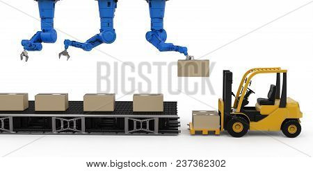 Robot In Warehouse