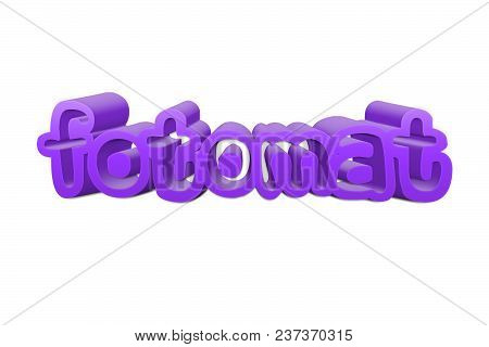 Fotomat Text For Title Or Headline In 3d Style