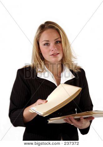 Femmina Office Worker