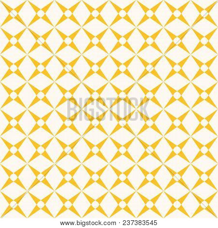 Vector Grid Seamless Pattern. Abstract Geometric Texture With Crossing Lines, Square Grid, Mesh, Lat