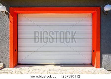Garage Door Plastic, White Garage Door Pvc