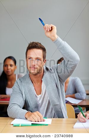 Student Giving Answer In Class