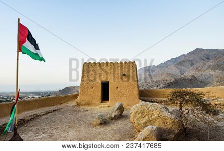 Dhayah Fort In North Ras Al Khaimah United Arab Emirates. Gulf, Heritage.