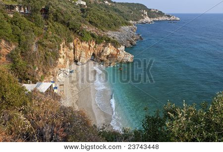 Mylopotamos beach at Pelion, Greece