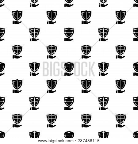 Shield Pattern Vector Seamless Repeating For Any Web Design