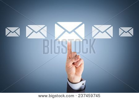 Email Marketing Newsletter And Bulk Mail Concepts