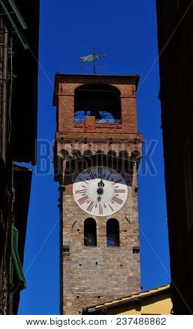 The Clock Tower Of Lucca