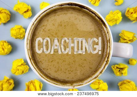 Conceptual Hand Writing Showing Coaching Motivational Call. Business Photo Text Tough Training Begin