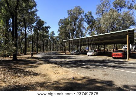 New South Wales, Australia - March 21, 2018:  View Of One Of The Many Excellent Rest Areas Along The
