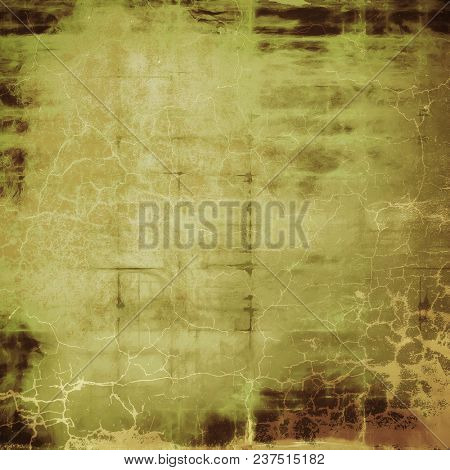Old abstract texture used as shabby grungy background. With different color patterns
